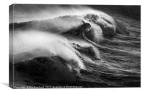 Wave Power, Canvas Print