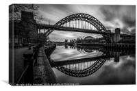 Tyne Bridge , Canvas Print