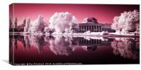 Infrared Wylam Brewery, Canvas Print
