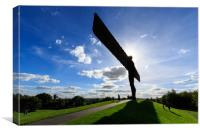 Angel of the north   , Canvas Print