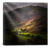 The lake district  , Canvas Print