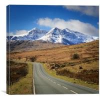 Snowdonia national park , Canvas Print