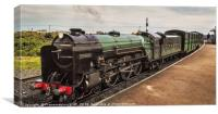 No7 Typhoon at the New Dungeness station , Canvas Print