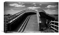 Footbridge, Canvas Print