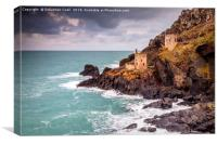 Botallack mines Cornwall.., Canvas Print