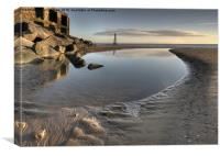 Low Tide - Rye Harbour, Canvas Print