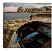 Castellammare del Golfo, Sicily - Late Afternoon, Canvas Print