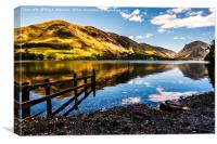 Buttermere to Fleetwith Pike, Canvas Print