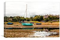 Alnmouth Low Tide, Canvas Print