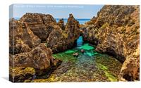 Ponta-da-Piedade (Mercy point), Canvas Print