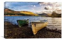 St Mary's Loch, Canvas Print