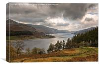 Stormy Haweswater, Canvas Print