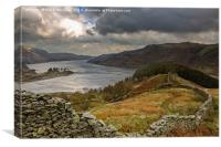 Autumnal Haweswater, Canvas Print