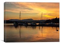 White Cross Bay - Windermere, Canvas Print