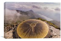 Snowdon Summit, Canvas Print