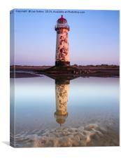 Talacre Beach Lighthouse, Canvas Print