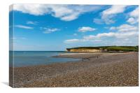 Cuckmere Haven on a Summers Day, Canvas Print