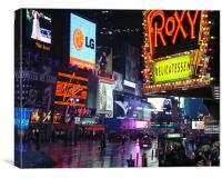The Roxy Times Sq New York, Canvas Print