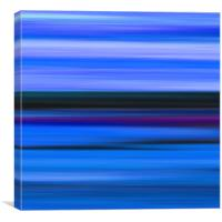 Seascape Abstract, Canvas Print