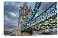 Tower Bridge London, Canvas Print