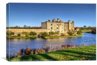 Leeds Castle, Canvas Print