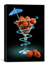 Fruit Cocktail, Canvas Print