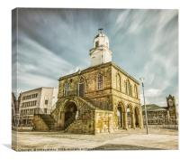 South Shields Old Town Hall, Canvas Print