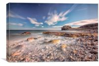Graham sands and Target rock, Canvas Print