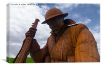 Seaham Tommy, Canvas Print