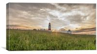 Souter, Before the sunset, Canvas Print