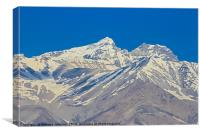 Pamir Mountains in the Wakhan Valley #3, Canvas Print