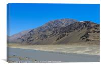 Pamir Mountains in the Wakhan Valley #7, Canvas Print