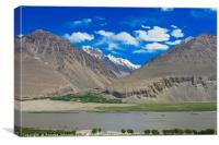 Pamir Mountains in the Wakhan Valley #14, Canvas Print