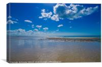 Worthing Beach, Canvas Print