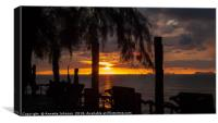 Sunset at Klong Khong Beach #2, Canvas Print