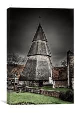 Bell Tower, Canvas Print