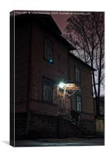 Night Light Over The Stairs, Canvas Print