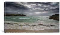 Clachtoll Beach - Scotland , Canvas Print