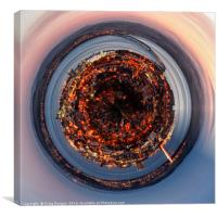 Dundee City (Rolled), Canvas Print