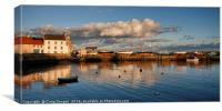 St Monans Harbour, Canvas Print