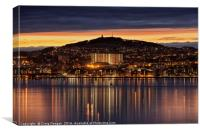 Dundee City , Canvas Print