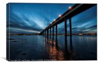 Dundee City Blues, Canvas Print