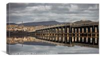 Dundee City Reflections, Canvas Print