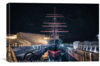 RRS Discovery, Canvas Print