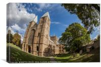 Southwell Minster in Southwell, Nottinghamshire, Canvas Print