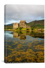 Eilean Donan Castle 2nd September 2015, Canvas Print