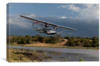 The Explorers Plane, Kenya., Canvas Print