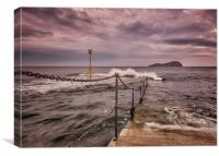 North Berwick Pier, Canvas Print