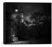 University Of Glasgow, Canvas Print