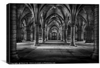 The Cloisters, Canvas Print